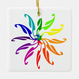 Ornament - Color Wheel Leaves