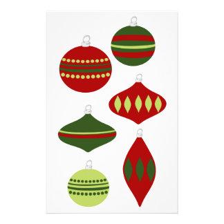 Ornament Cut-Outs Flyer