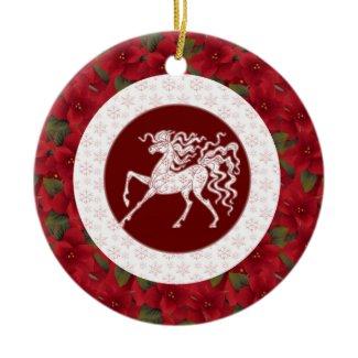 Ornament - Decorative Winter Horse ornament