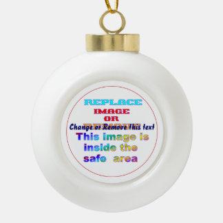 Ornament design choices (Christmas Tree, Bell, Poi