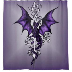 Ornament Dragon Shower Curtain
