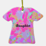Ornament-dress shaped-daughter christmas tree ornaments
