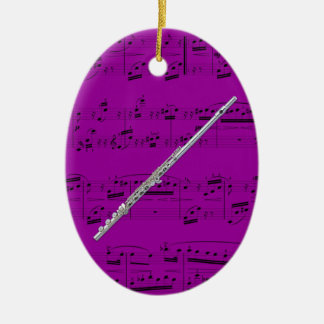 Ornament - Flute - Pick your color