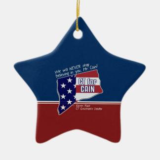 Ornament for Karen Post. CT Leader for Cain