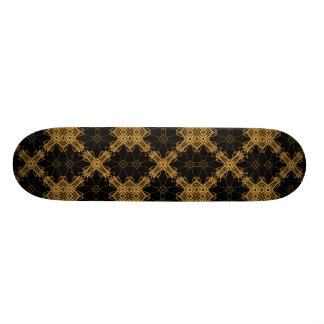Ornament Geometric Swirls Skateboard