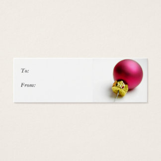 Ornament Gift Tag Business Card