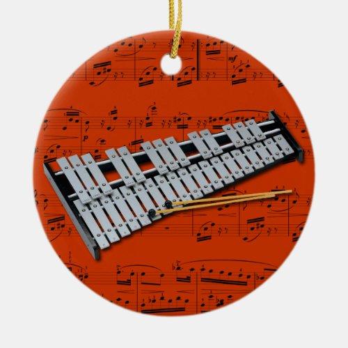 Ornament _ Glockenspiel Bells _ Pick your color