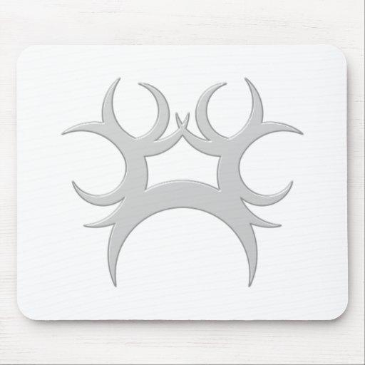 Ornament Halbmonde crescents Mousepads