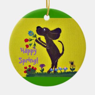 ornament - Happy Spring