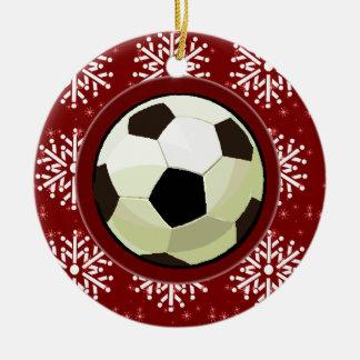 Ornament - Holiday Soccerball