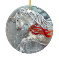 Ornament - Holiday Unicorn