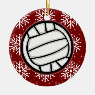 Ornament - Holiday Volleyball