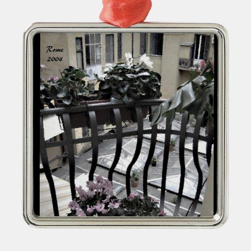 Ornament - Hotel Balcony