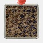 Ornament- Kuba Cloth #4