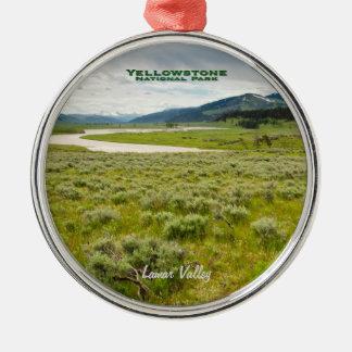Ornament: Lamar Valley (Premium Round)