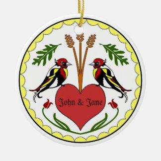 Ornament - Long, Happy Relationship Hex