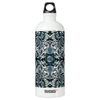 Ornament Luxury Pattern Aluminum Water Bottle