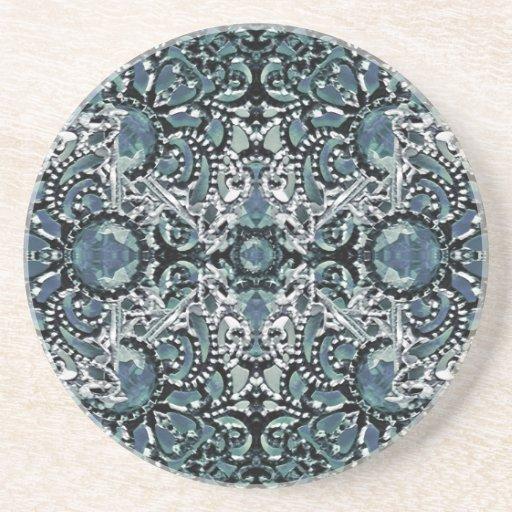 Ornament Luxury Pattern Drink Coaster