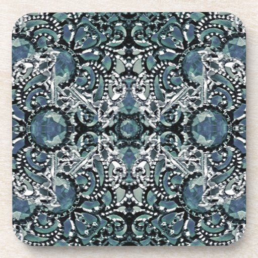 Ornament Luxury Pattern Drink Coasters