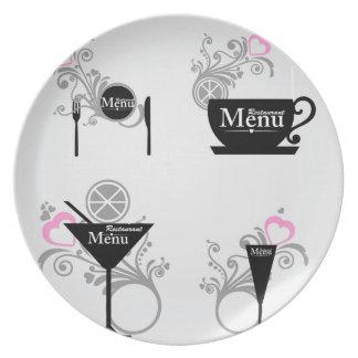 Ornament Melamine Plate