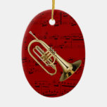 Ornament - Mellophone - Pick your color