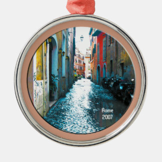 Ornament - Motorcycle Lane (funky color)
