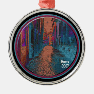 Ornament - Motorcycle Lane (textured abstract)