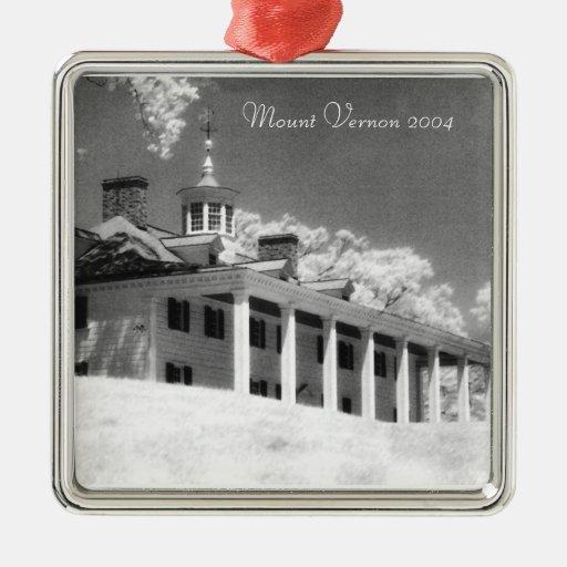 Ornament -  Mount Vernon facing the Potomac