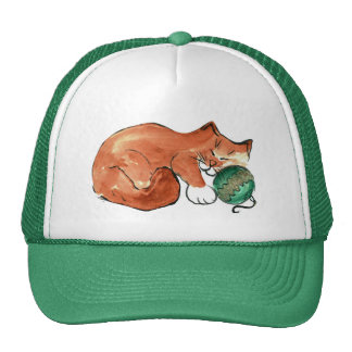 Ornament Nap for Kitty Hat