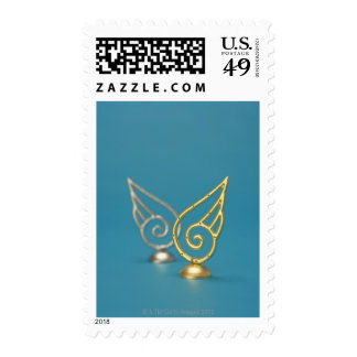 Ornament of Angel's Wing Postage Stamps