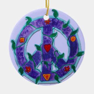 Ornament - peace sign