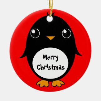 "ornament ""Penguin Merry Christmas"""