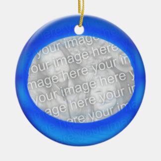 Ornament - Personalize Blue ball