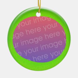 Ornament - Personalize green ball