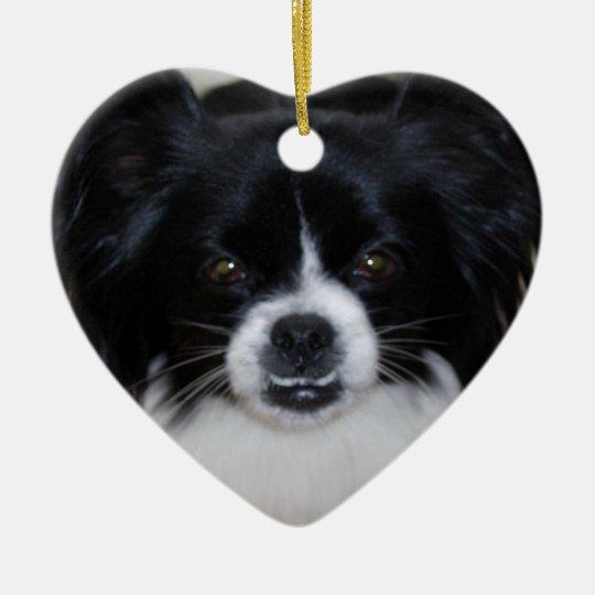 Ornament:  Pet (Pekingese, Chihuahua) Ceramic Ornament