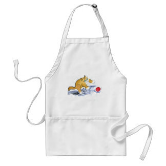 Ornament Pounce by Kitten Adult Apron