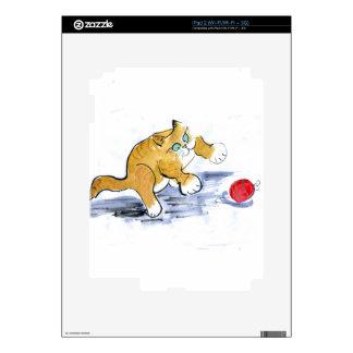 Ornament Pounce by Kitten iPad 2 Skin