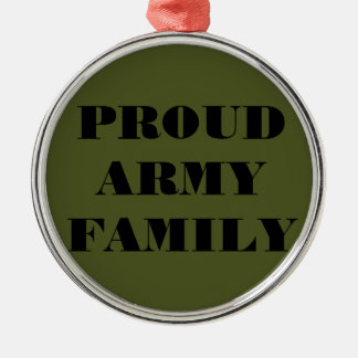 Ornament Proud Army Family