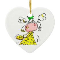 ornament punk cow