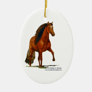 Ornament, Red Peruvian Paso Ceramic Ornament