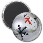 ornament refrigerator magnet