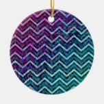 Ornament Retro Zig Zag Chevron Pattern