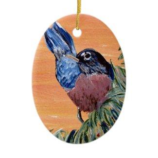 Ornament Robin Red Breast ornament