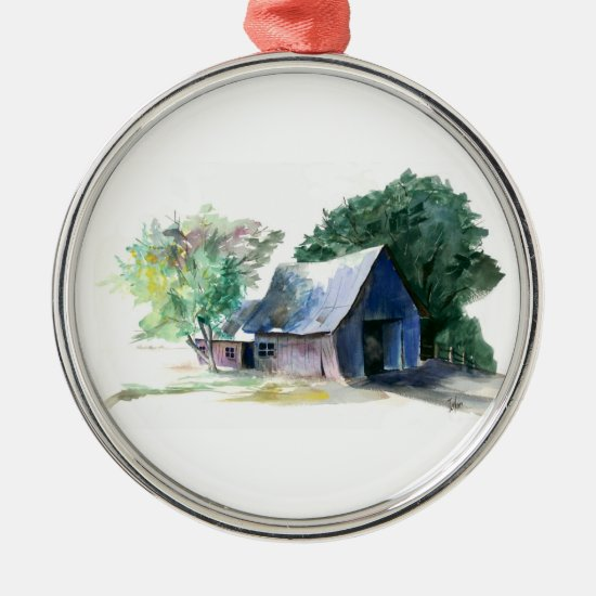 Ornament - Rural barn