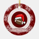 Ornament - Santa Football