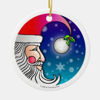 Ornament - SANTA MOON