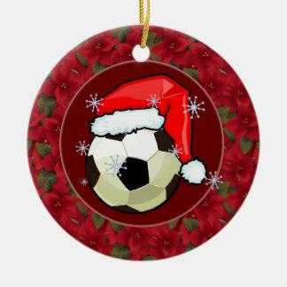 Ornament - Santa Soccerball