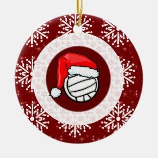 Ornament - Santa Volleyball