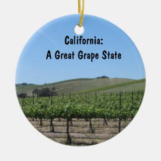 Ornament: Scenic Paso Robles Vineyard