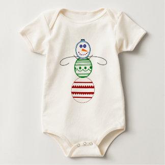 Ornament  Snowman - Infant Baby Bodysuit